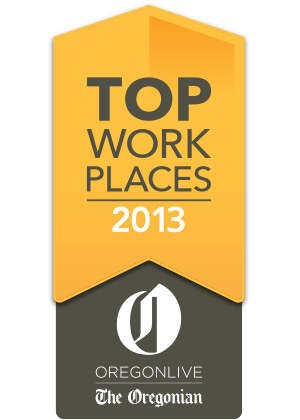 Oregonian Top Work Places 2013