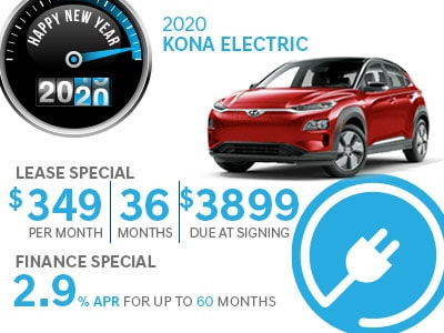 Great deals on Hyundai Kona EV