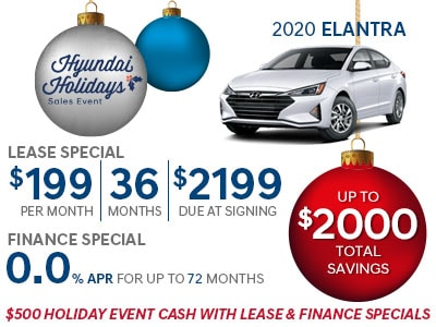 Great deals on Hyundai Elantra